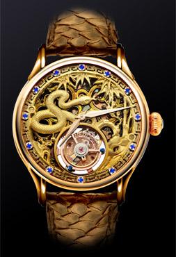 Tourbillon Zodiac Snake Gold - 4894379200620